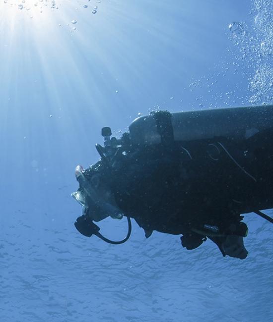 eudrac specialist services person scuba diving